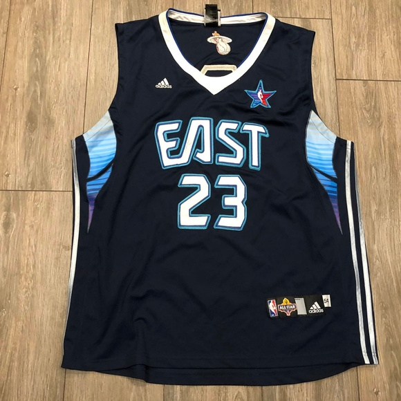 new arrival e9358 c44be Adidas Lebron James Dwyane Wade All Star Jersey